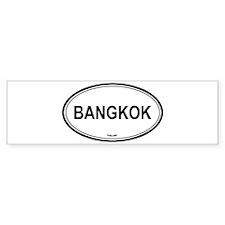 Bangkok, Thailand euro Bumper Bumper Sticker