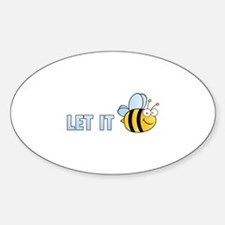 Let It Bee Decal