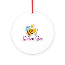 Queen Bee Ornament (Round)