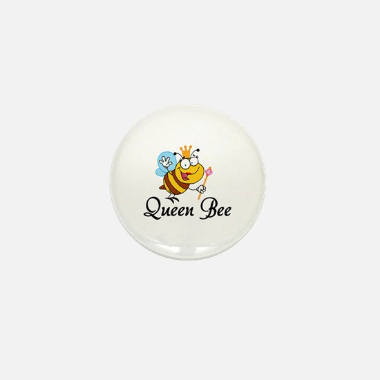 Queen Bee Mini Button