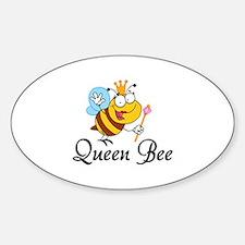 Queen Bee Sticker (Oval)