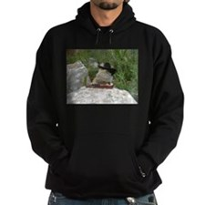 Musician Spiny the Lizard Hoodie