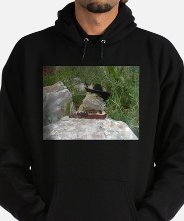 Musician Spiny the Lizard Hoodie (dark)