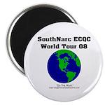 SouthNarc World Tour 2008 Magnet
