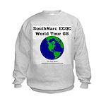 SouthNarc World Tour 2008 Kids Sweatshirt