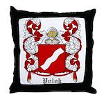 Polok Coat of Arms Throw Pillow
