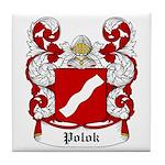 Polok Coat of Arms Tile Coaster