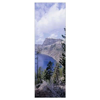Crater Lake Crater Lake National Park OR Poster