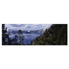 Crater Lake Crater Lake National Park OR Canvas Art