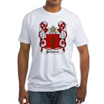 Polkozic Coat of Arms Fitted T-Shirt
