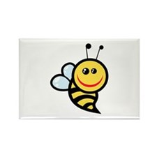 Bee Rectangle Magnet