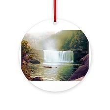 Cumberland Falls Ornament (Round)