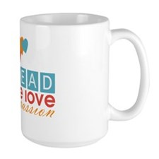 Spread Peace Love and Compassion Mug