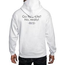 Go fly a kite?<br>Hooded Sweatshirt