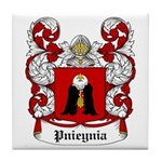Pnieynia Coat of Arms Tile Coaster