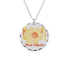March Daffodil Necklace