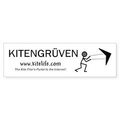 Kitengruven<br>Bumper Bumper Sticker