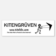 Kitengruven<br>Bumper Car Car Sticker