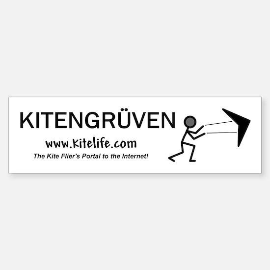 Kitengruven<br>Bumper Car Car Sticker