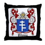 Pilawa Coat of Arms Throw Pillow