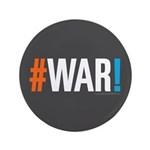 """#WAR! 3.5"""" Button (100 pack)"""
