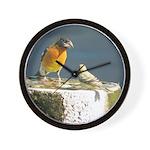 Beautiful Black Headed Grosbeak Wall Clock