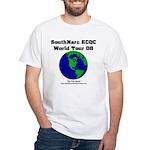 SouthNarc World Tour 2008 White T-Shirt
