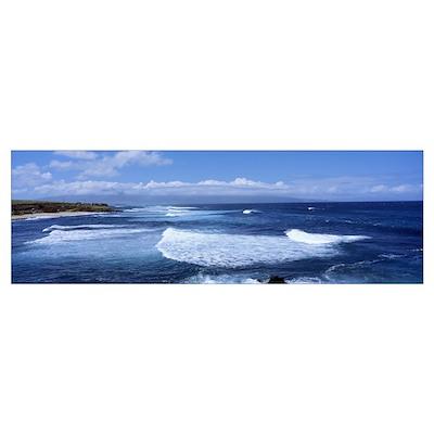 Hookipa Beach Maui HI Poster