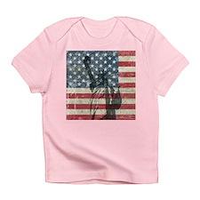 Vintage Statue Of Liberty Infant T-Shirt