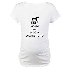 Dachshund - Keep Calm and Hug a Dachshund Maternit