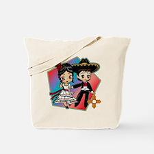 Fiesta Dancers Tote Bag
