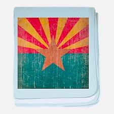 Vintage Arizona baby blanket