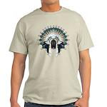 Native War Bonnet 02 Light T-Shirt