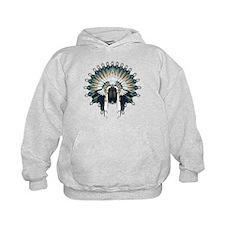 Native War Bonnet 02 Hoodie