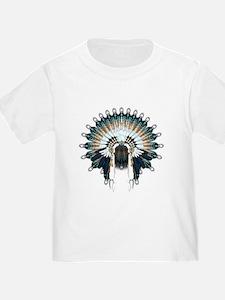 Native War Bonnet 02 T