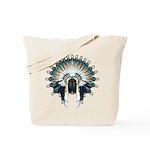 Native War Bonnet 02 Tote Bag