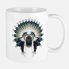 Native War Bonnet 02 Mug