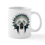 Native War Bonnet 02 Mug