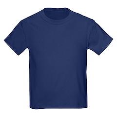 Indian gold oval 3 Kids Dark T-Shirt