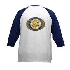 Indian gold oval 3 Tee