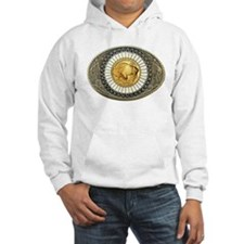 Indian gold oval 3 Hoodie