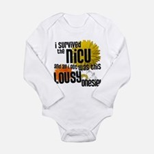 i survived the nicu Body Suit