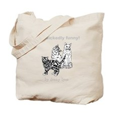Droll Cats Tote Bag