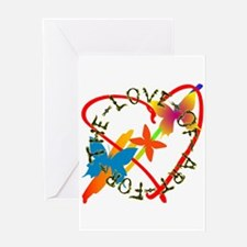 For The Love Of Art Greeting Card