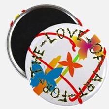 "For The Love Of Art 2.25"" Magnet (10 pack)"