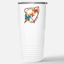 For The Love Of Art Travel Mug