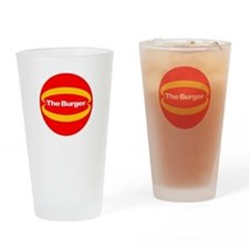 The Burger Drinking Glass