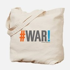 #WAR! Tote Bag