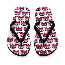 Republican Elephant (Mini) Flip Flops