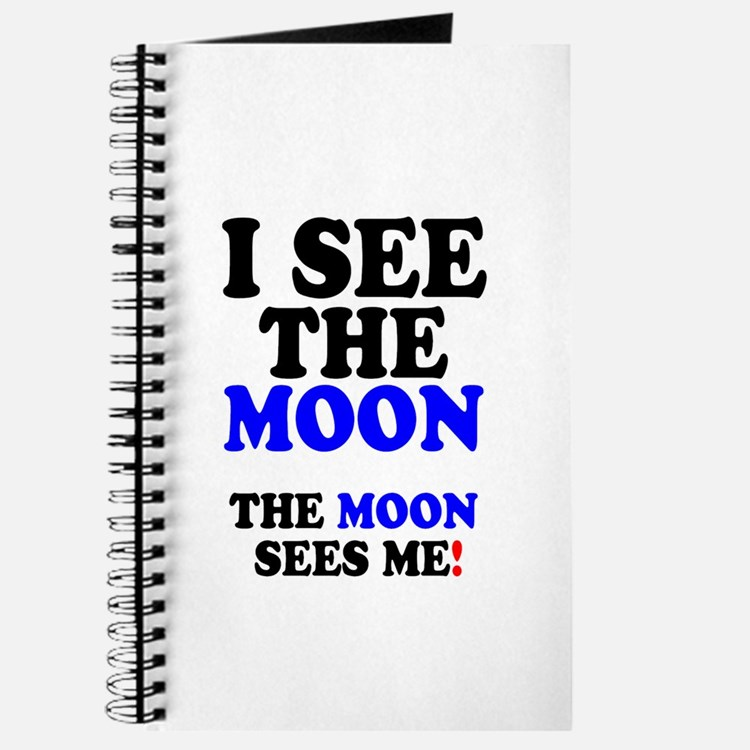 I SEE THE MOON! - Journal